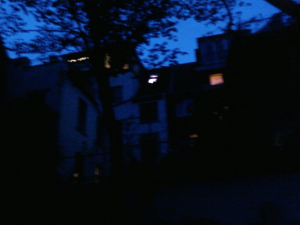 Ehrenfeld at night
