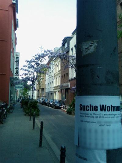 mein Zettel in Ehrenfeld